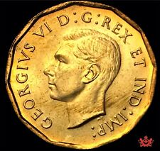 1942 Canada 5 cents - MS63 - Tombac Lot#1883