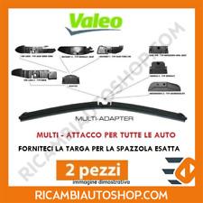 2 SPAZZOLE TERGI VALEO FIAT PANDA (169) 1.2 BI-POWER / NATURAL POWER KW:44 2007>