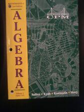 College Preparatory Mathematics CPM 1 Algebra 1 VO 2 Units 7-13 PRACTICE ANSWERS
