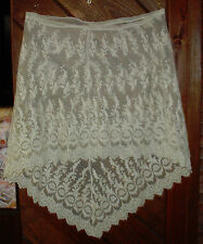 Heirloom vintage Alescon lace slip Cotillion all lace heirloom sewing