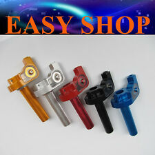 Alloy Twist Throttle Housing Grip PIT Pro Dirt Quad ATV Bike Black Red Blue Gold