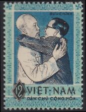 VIETNAM du NORD N°327** Ho Chi Minh, Nguyen Van Hien, 1963 North Vietnam 257 MNH