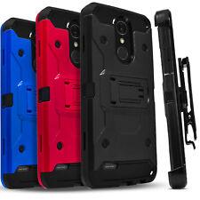 For LG Harmony 2 /K30/Premier Pro LTE/Phoenix Plus Phone Case +Screen Protector