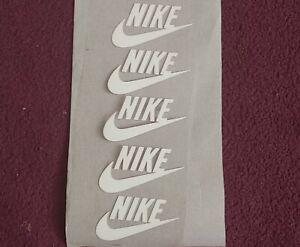 Nike iron on logo--New-Set of 10