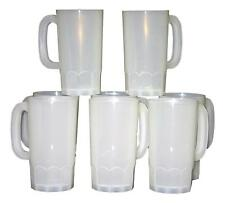6  22 Ounce Beer Mugs, Made in America Lead Free, No BPA, Dishwasher Safe*