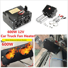 12V Portable Car Fan Heater Heating Warmer Windscreen Defroster Demister 600W