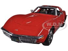 1970 CHEVROLET CORVETTE RED 1/24 DIECAST CAR MODEL BY MAISTO 31202