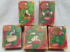 Enesco Christmas Ornament Charter Member Lot of 5 1993-96 Special Delivery Iob