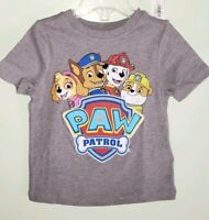 NEW Old Navy Boys Girls Unisex 12-18 MONTHS Paw Patrol Tee GRAY T-Shirt #37319