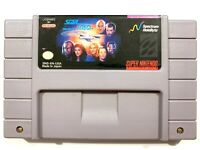 Star Trek The Next Generation SNES Super Nintendo Game Tested Working AUTHENTIC!