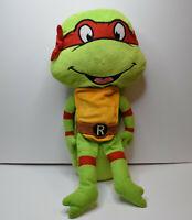 """18"""" Teenage Mutant Ninja Turtle Raphael Soft Plush Animal by Nickelodeon"""