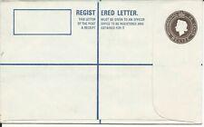 Belize 75 cent Registration envelope size 156 x 95mm unused
