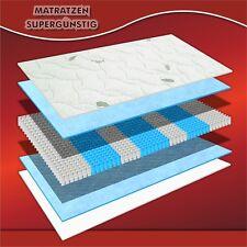 """orthopädische Microtonnentaschenfederkern-Matratze """"München"""" H2 160x200x23cm"""