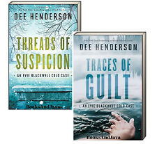 Evie Blackwell Cold Case 1-2 (pb) Traces Guilt & Threads Suspicion Dee Henderson