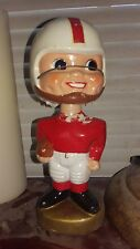 Original 1960's Red/White Team Colors Bobblehead Sold As Is Crack In Helmet