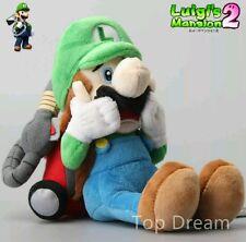 LUIGI'S MANSION PELUCHE 25Cm. - Super Mario Bros. Ludwig Boo Plush Luigi Pupazzo