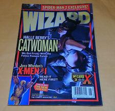 WIZARD The Comics Magazine #152 HALLE BERRY'S CATWOMAN June 2004