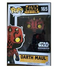 FUNKO POP DARTH MAUL VARIANT REBELS STAR WARS SMUGGLERS BOUNTY EXCLUSIVE #165