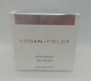 Rodan + Fields Active Hydration Body Replenish 200 ml 6.76 oz New  Full Size