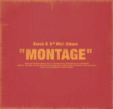 BLOCK B - [MONTAGE] CD + Photobook+Lyric Book+Photocard+Folded Poster K-POP