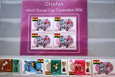 Ghana Afrika V5299 Ghana/ Olympia 1984-fussball Minr Block 109 **