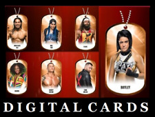 TOPPS WWE SLAM DOG TAGS 2020 WAVE 3  BRONZE [SET 7 CARDS]