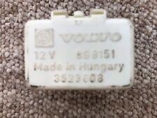 VOLVO 240 940 WHITE FUEL PUMP RELAY 3523808 LH JETRONIC B200F B230FT USED