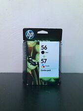 New, Unopened HP Printer Ink Cartridges 56 Black & 57 Tri-Color Expired