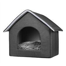 Hundehaus Hundehütte Katzenhöhle mit herausnehmbarer bett für Katzen Hunde klein