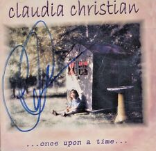 "Claudia Christian ""ONCE UPON A TIME"" Pop Music CD Babylon 5 AUTOGRAPHED"