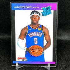 2019-20 Luguentz Dort Panini Retro Rated Rookie Card RC 1989 Donruss Thunder SP