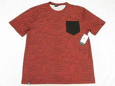 $42 NWT Mens Akademiks T-Shirt Bluez Digital Print Pocket Tee Sz 3XL 3XB 3X M956
