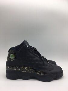 Nike Jordan 13 Retro Black Metallic Gold (GS)   Size Boy's 6.5Y-8 Womens