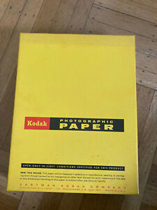 Vintage Kodak AD TYPE A-1 PHOTO PAPER Light weight 8.5X11 250 sheets Expired
