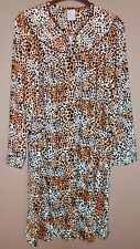 Womens Fleece Robe/Duster - POCKETS & SNAP FRONT - X-Large - 16-18 - NEW NO TAGS