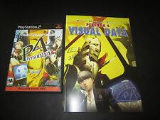 PS2 Shin Megami Tensei: Persona 4 PlayStation 2 W/ soundtrack & Art Book