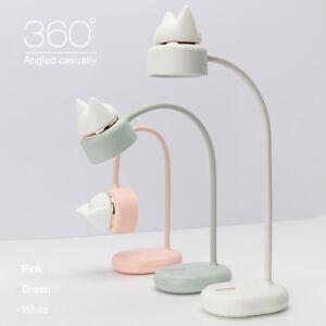 Dimmable Adjustable USB LED Desk Table Bedside Reading Lamp Light