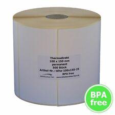 Thermo Etiketten auf Rolle - 100 x 150 mm - 500 Stück - für DHL, GLS, UPS