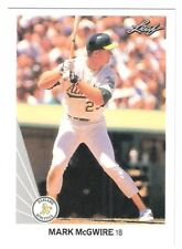 1990 Leaf Mark McGwire #62