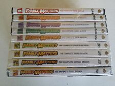 Family Matters: The Complete  Series- Season 1-9, DVD, FREE SHIPPING, NEW.
