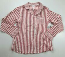 Gilligan & O'Malley Pajama Top Sleep Shirt Striped Size M