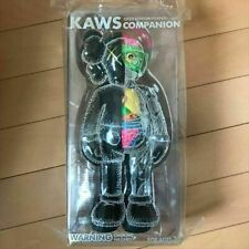 KAWS Companion Open Edition MEDICOM TOY Vinyl FIGURE BLACK FLAYED Anatomical NEW