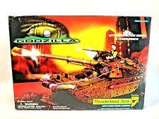 Trendmasters 1998 Genuine Godzilla Thunderblast Tank w/ Recoil Cannon Playset