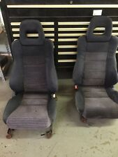 1988-1991 Honda CRX SI OEM Seats Ultra Rare CR-X JDM EF 88-91 89 90 91