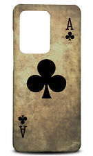 ACE OF CLUBS PLAYING DECK CARDS PHONE CASE BACK COVER FOR SAMSUNG GALAXY S