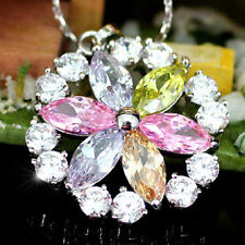 Topaz Silver Plated Fashion Necklaces & Pendants