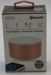 SPBT4 Black Sentry Wireless Bluetooth Speaker Black or Gold ! Free Shipping
