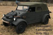 RAL7021 DUNKELGRAU 1kg FARBE WEHRMACHT NACHTGRAU  ab 1937 KDF VARIANTE AMBI LACK