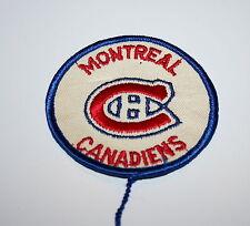 Vintage NHL RWB Montreal Canadians Hockey Team Cloth Patch 1960s New NOS