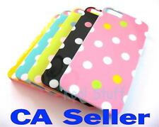 Polka Plastic Snap On Hard Case Cover iPhone 5 5G 5S